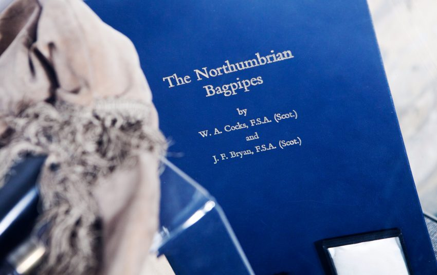 Museums Northumberland Morpeth Bagpipe Book