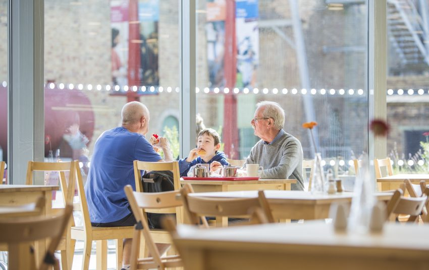 Museums Northumberland Woodhorn Cafe Family