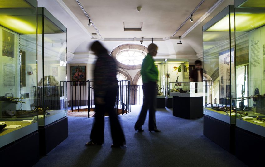 Museums Northumberland Morpeth Display Cases