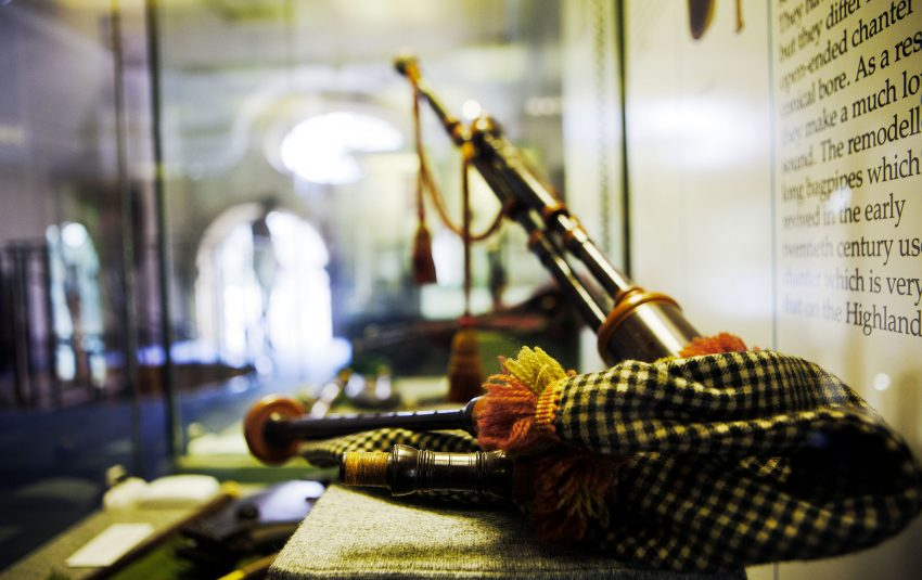 Museums Northumberland Collections Morpeth Bagpipe Instrument