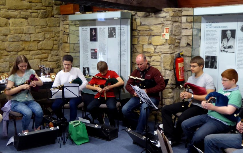 Museums Northumberland Morpeth Young Pipers Group