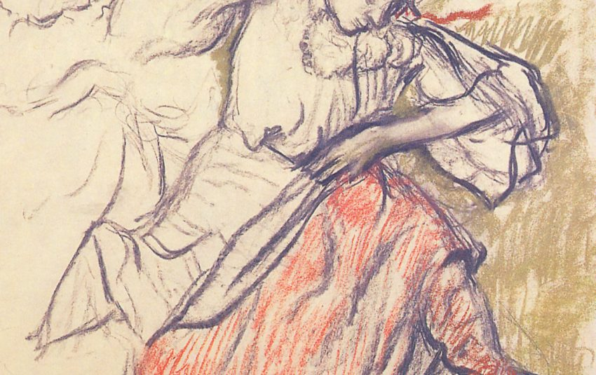 Museums Northumberland Degas collection image of Danseurs Russes