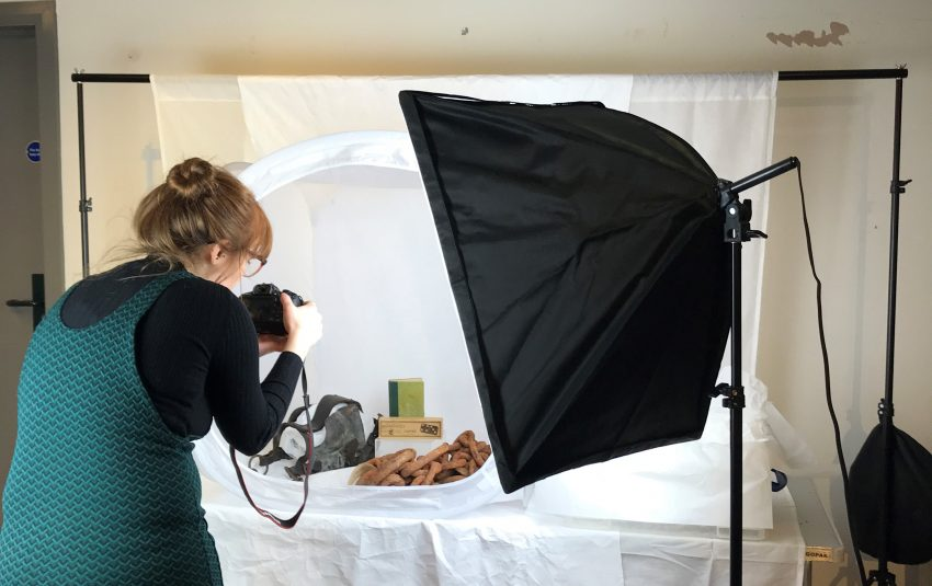 Museums Northumberland Collections Ellerman Project photography taking place 2019