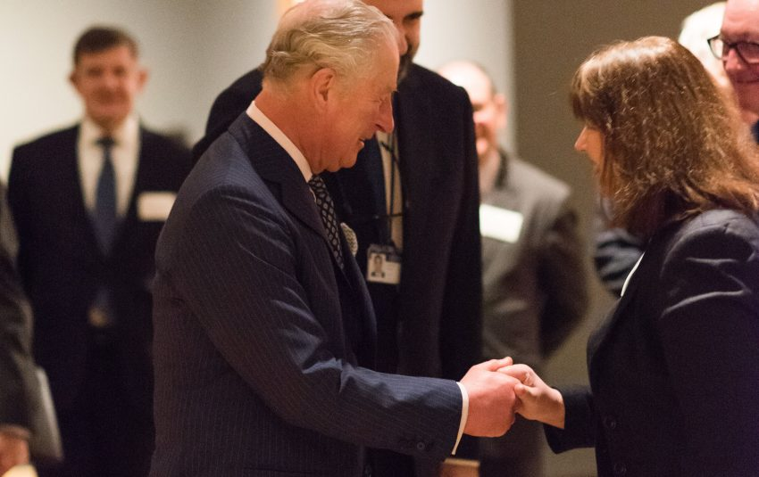 Museums Northumberland Collections National Gallery visit with HRH the Prince of Wales for loaning of the Degas