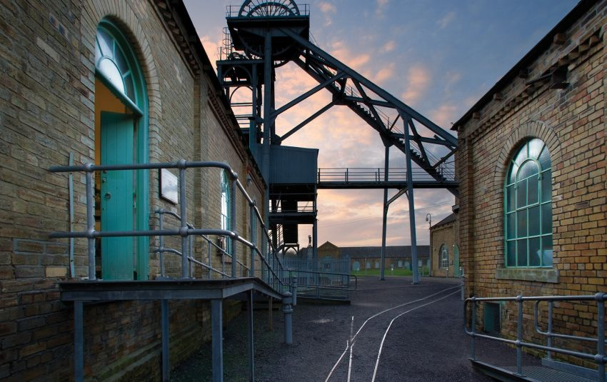 Museums Northumberland Woodhorn Outside Evening Gneral Image
