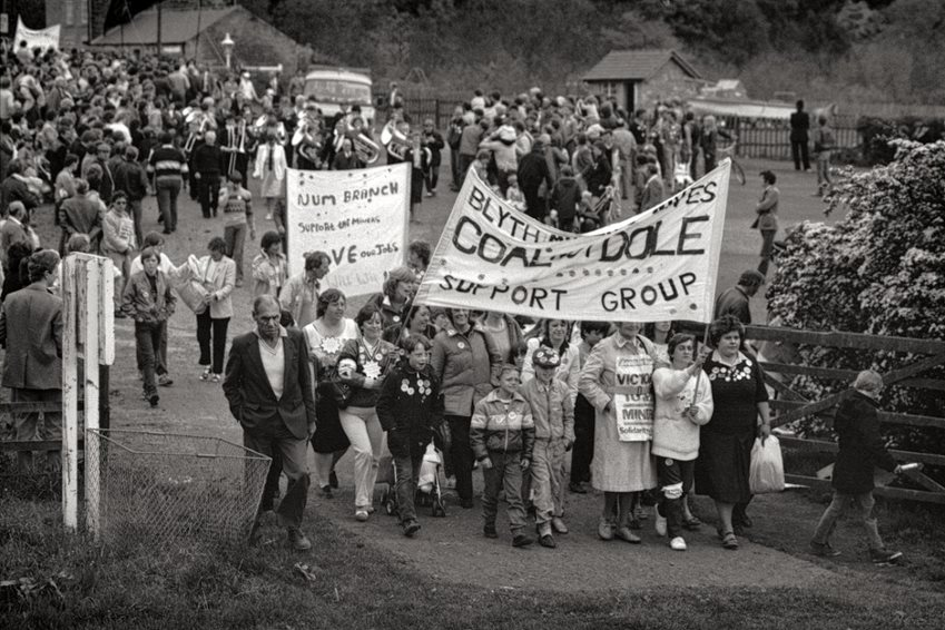 Mik Critchlow- Women's Support Group Bedlington 1984 photograph