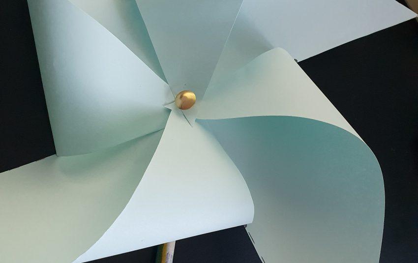 a paper windmill