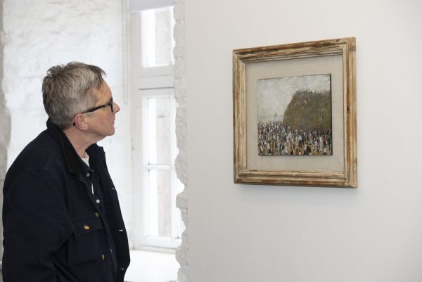 Painting by LS Lowry to go on permanent display at Berwick Museum and Art Gallery - image Colin Davidson