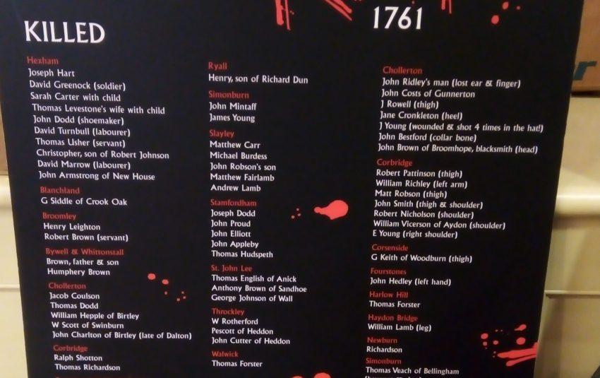 1761 Hexham Riot Interactive Trail
